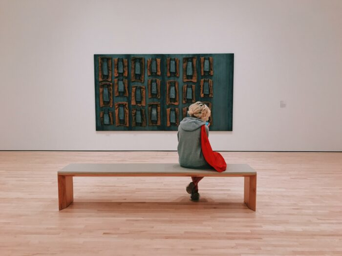 Museum Visitor